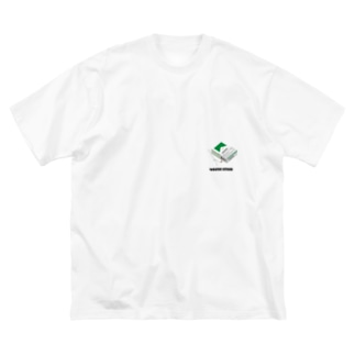 vivid Big silhouette T-shirts