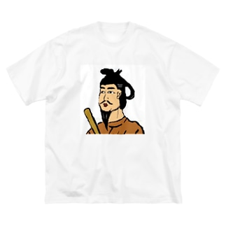 聖徳タイツくん Big silhouette T-shirts