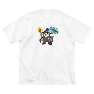 うきうき魔法使い Big silhouette T-shirts