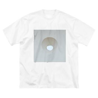 空 Big silhouette T-shirts