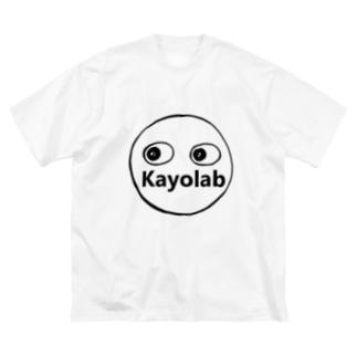 Kayolabくん Big silhouette T-shirts