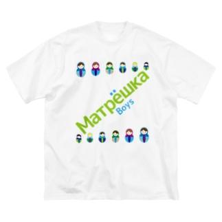 Matryoshkaboys Big silhouette T-shirts