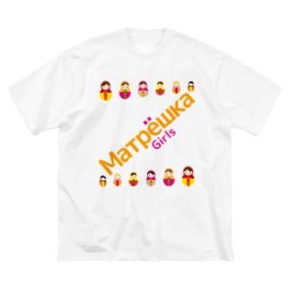 Matryoshkagirls Big silhouette T-shirts