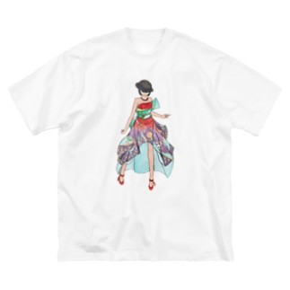 Ericaさま Big silhouette T-shirts