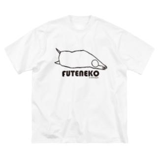 NEKO KEN フテネコTシャツ Big Silhouette T-Shirt