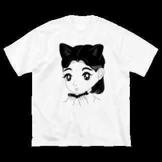 牛木匡憲 Big silhouette T-shirts