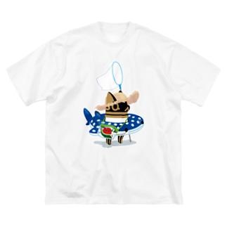 とーとつにエジプト神 夏へのやる気 Big T-shirts