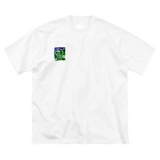 210726 アフロマン Big silhouette T-shirts