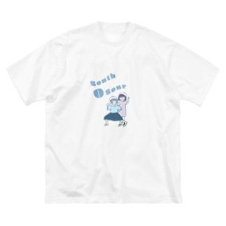South-O-Sour(from かるがも団地) Big silhouette T-shirts