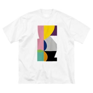 ゴロ展のグッズ|入船ゴローのBIG ゴロT/f_002(トリミングシリーズ) Big silhouette T-shirts