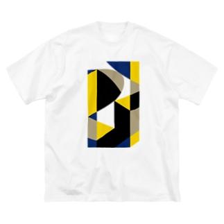 BIG ゴロT/f_004(トリミングシリーズ) Big silhouette T-shirts