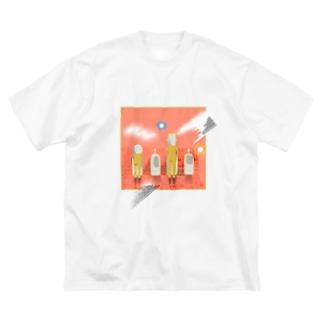 やすみじかん Big T-shirts