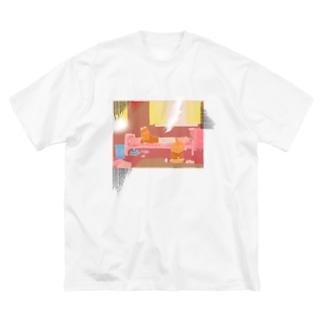 西日の部屋 Big Silhouette T-Shirt