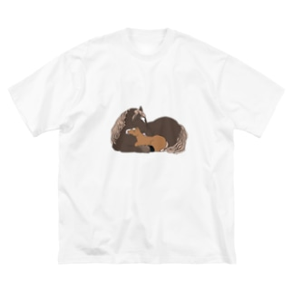 マツザキユキのおかさんとぼく Big Silhouette T-Shirt