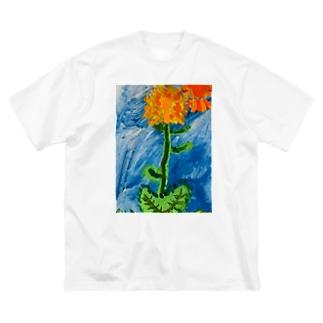 たんぽぽ Big Silhouette T-Shirt