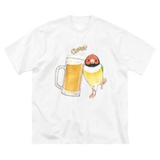 コキンビール Big Silhouette T-Shirt