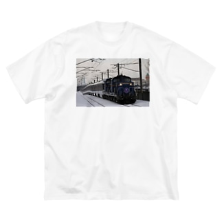 寝台特急カシオペア グッズ Big Silhouette T-Shirt