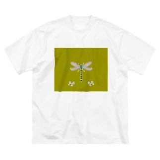 蚊が嫌い Big silhouette T-shirts