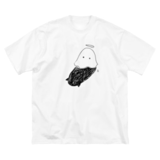 ぽんぽんおばけさん Big Silhouette T-Shirt