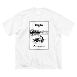 0801「#水の日 」 Big T-shirts