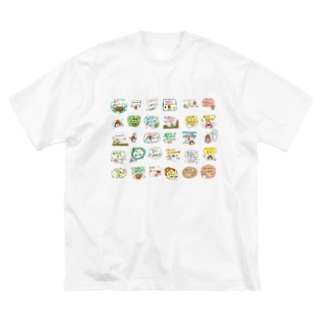 THE・ご不浄ランド Big silhouette T-shirts