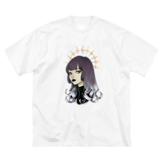 pretty baby (Halo ver) 透過 Big silhouette T-shirts