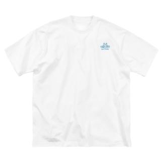 コマツタスク Big silhouette T-shirts