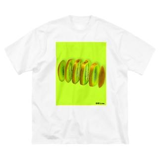輪切り.com -キウイ- Big Silhouette T-Shirt