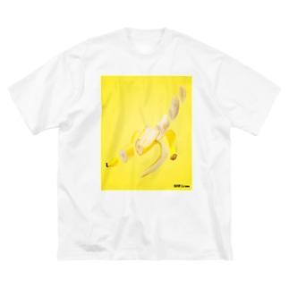 輪切り.com -バナナ- Big Silhouette T-Shirt