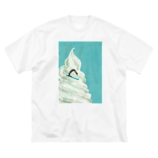 sweet penguin Big silhouette T-shirts