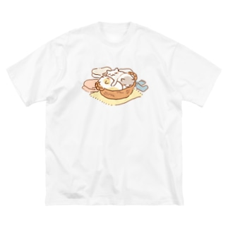 かごキャット Big Silhouette T-Shirt