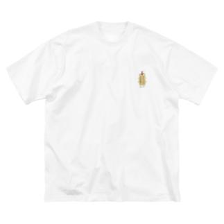 セミ バクダン  Big silhouette T-shirts