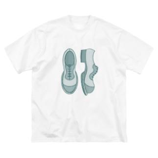 シンプル革靴 濃いめ Big Silhouette T-Shirt