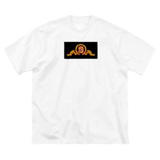 暗闇で吠えるライオン Big Silhouette T-Shirt