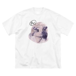 トテトテ-ミルキー Big silhouette T-shirts