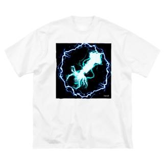 thunder_squid Big Silhouette T-Shirt