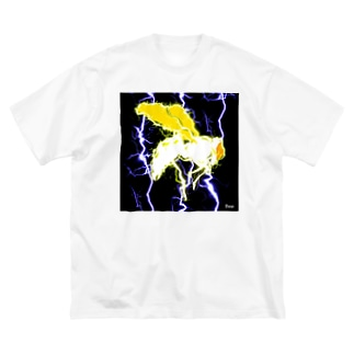 thunder_bee Big Silhouette T-Shirt
