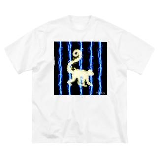 thunder_monkey Big Silhouette T-Shirt