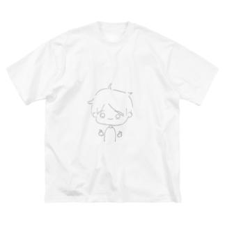 遥斗くん Big Silhouette T-Shirt
