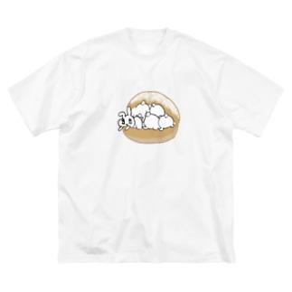 うさぎちゃんアイランドのうさトッツォ(おしりver.) Big Silhouette T-Shirt