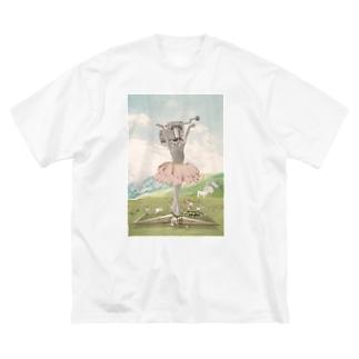 オルゴールバレリーナ Big T-shirts