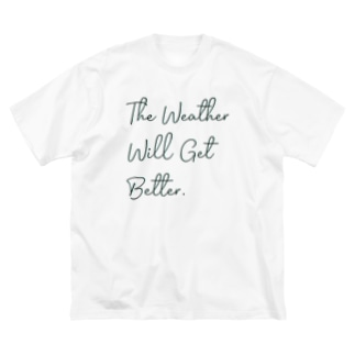 The Weather Big silhouette T-shirts