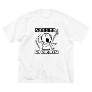 No problem Tシャツ Big Silhouette T-Shirt