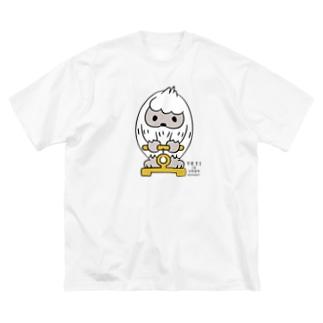 はいきんりょくチェック*L配置 Big T-shirts