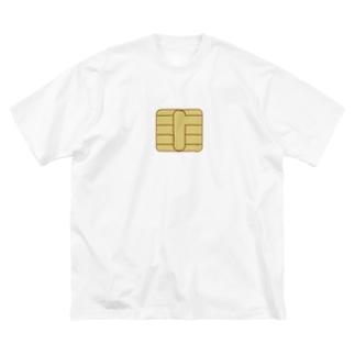 フォーヴァのICチップ Big Silhouette T-Shirt