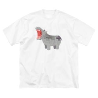 かばさん Big Silhouette T-Shirt