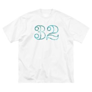 ナンバー32 Big silhouette T-shirts