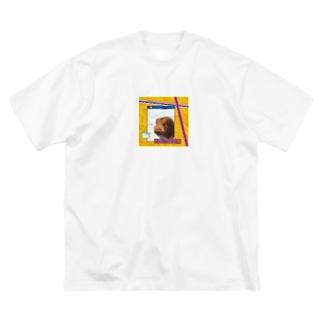 アメリカンなモルモット Big Silhouette T-Shirt