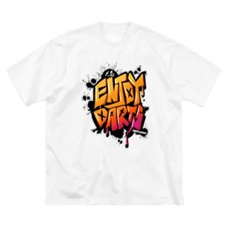 ENJOY DARTS! Big T-shirts