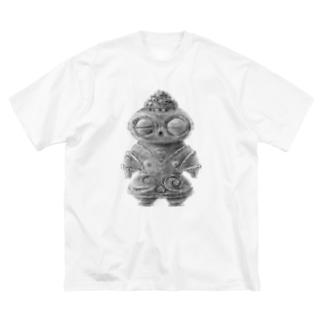 遮光器土偶さん Big Silhouette T-Shirt